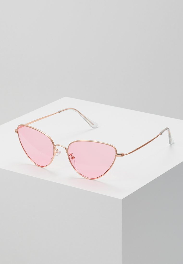 A.Kjærbede - WIVI - Sunglasses - gold-coloured/pink
