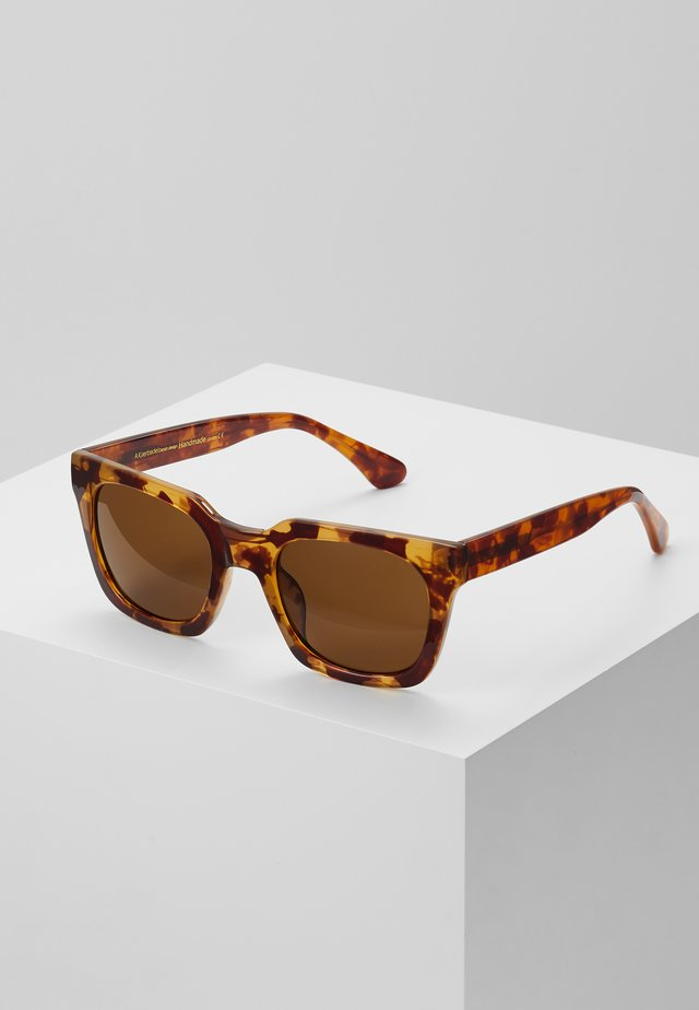 NANCY - Sonnenbrille - light brown transparent