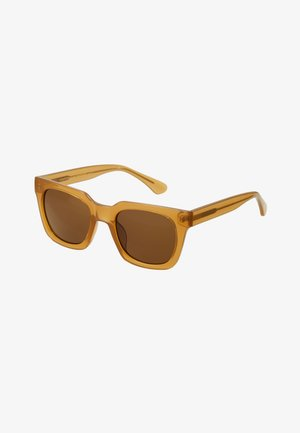 NANCY - Sunglasses - light brown transparent