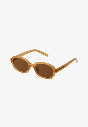 BOB - Sunglasses - ligth brown transparent