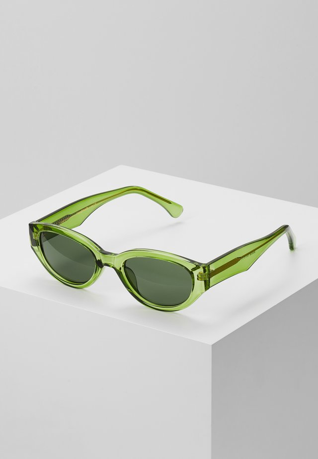 WINNIE - Lunettes de soleil - light olive transparent