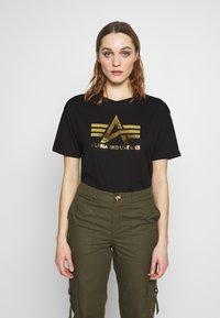 Alpha Industries - T-shirt print - black - 0