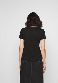 Alpha Industries - NASA - T-shirt print - black/gold - 2