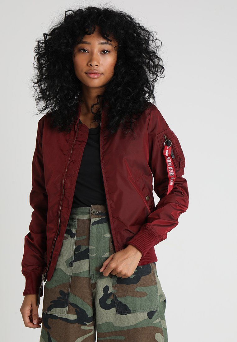 Alpha Industries - Bomberjacks - burgundy