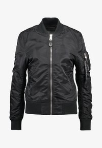 Alpha Industries - Bomber Jacket - black/chrome