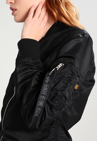 Alpha Industries - Bomber Jacket - black/chrome - 3