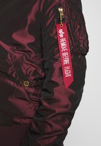 Alpha Industries - IRIDIUM - Bomberjacks - bordeaux - 6