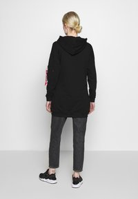 Alpha Industries - BIG HOODY - Luvtröja - black - 2