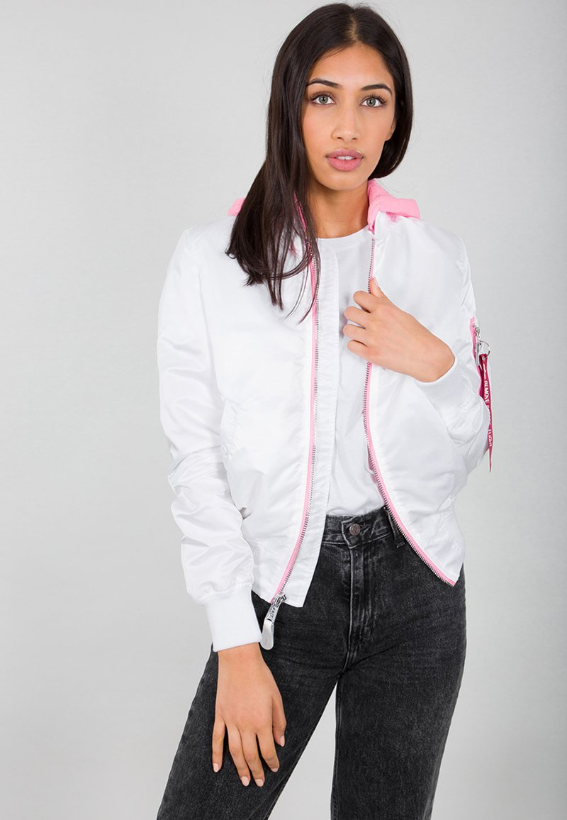 Alpha Industries - Impermeabile - white
