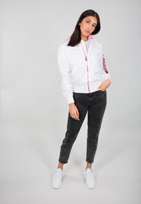 Alpha Industries - Impermeabile - white - 1