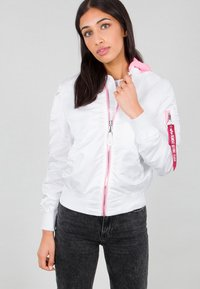 Alpha Industries - Impermeabile - white - 3