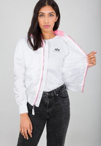 Alpha Industries - Impermeabile - white - 4