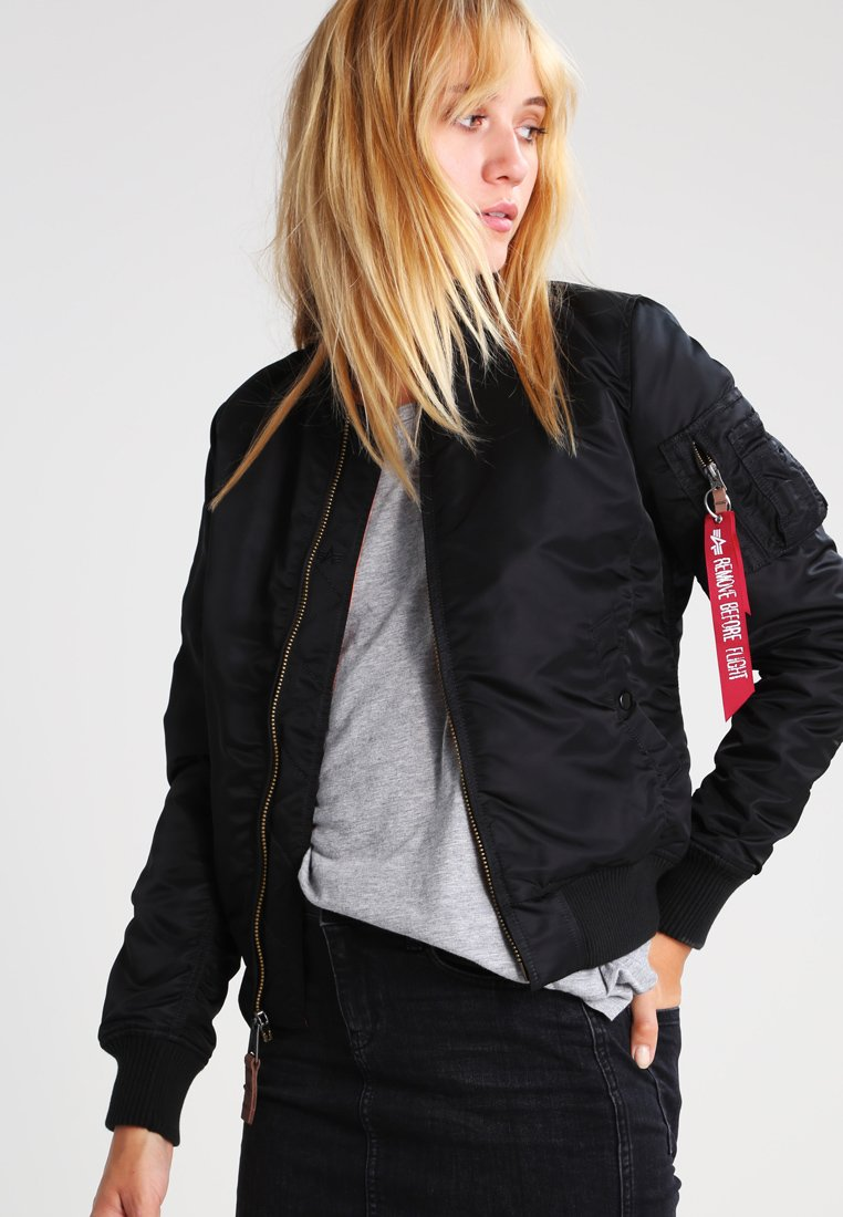 Alpha Industries - Blouson Bomber - black
