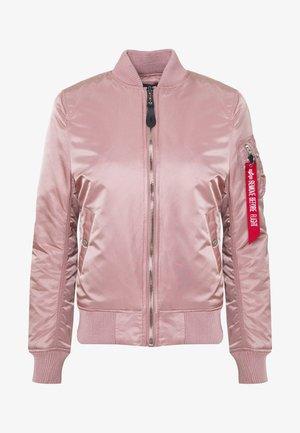Bomber bunda - silver pink