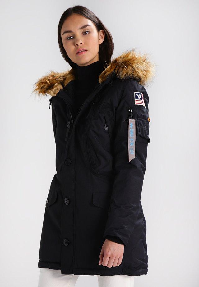 POLAR - Abrigo de invierno - black