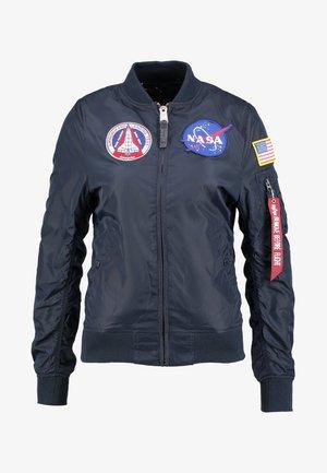 NASA REVERSIBLE  - Bomber bunda - dark blue