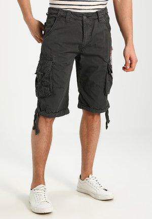 JET - Cargo trousers - grey/black