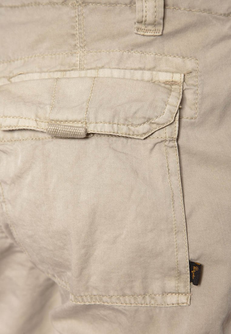 Alpha Industries JET - Pantalon cargo - beige
