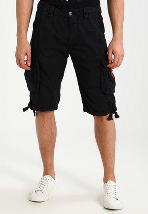 JET - Pantalon cargo - schwarz