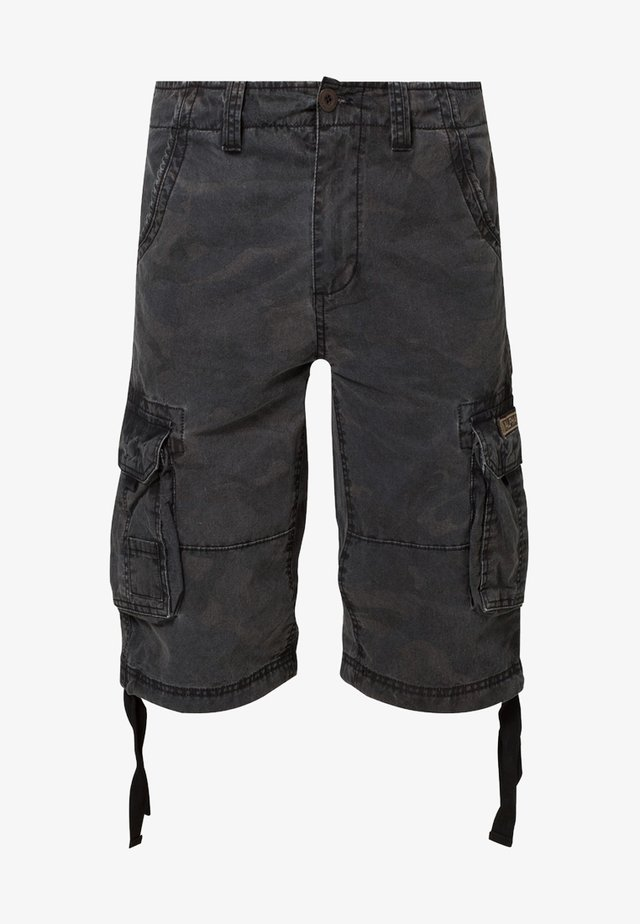 JET - Cargobroek - black camo