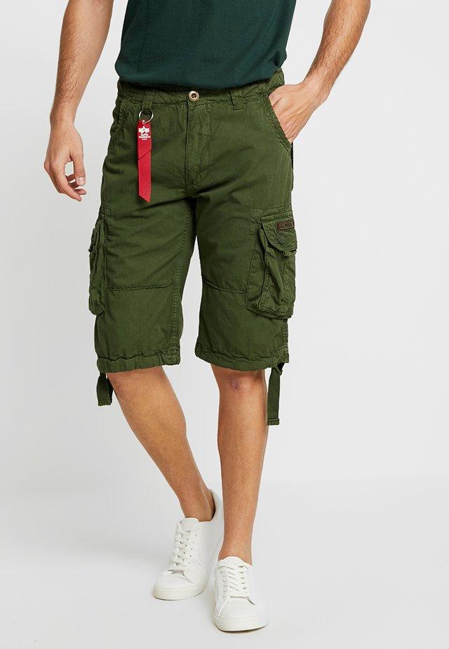 JET - Pantaloni cargo - dark oliv
