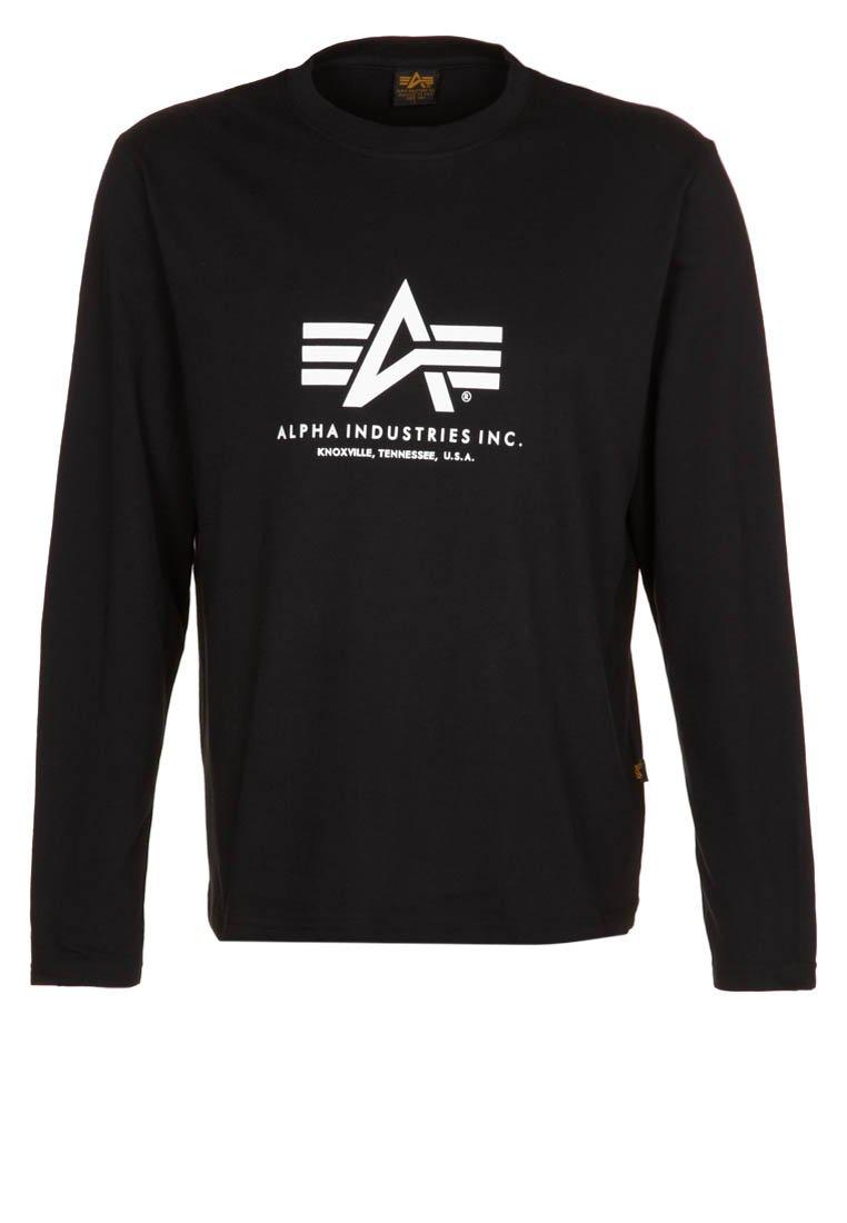 Alpha Industries - Long sleeved top - black