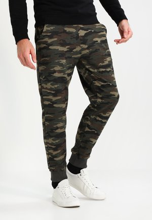 X FIT PANT - Träningsbyxor - woodl. camo 65