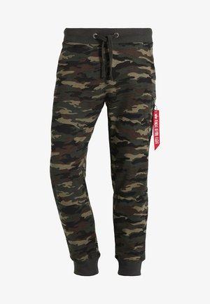 X FIT PANT - Pantaloni sportivi - woodl. camo 65