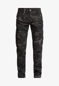 Alpha Industries - Pantalones cargo - black camo - 4