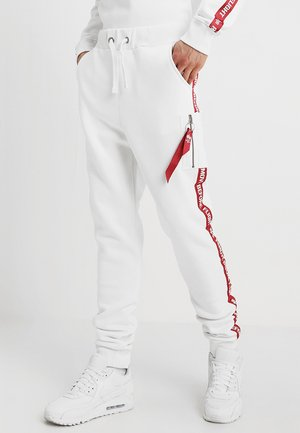 JOGGER TAPE - Jogginghose - white