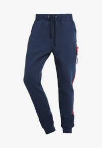 Alpha Industries - JOGGER TAPE - Pantalon de survêtement - new navy - 4