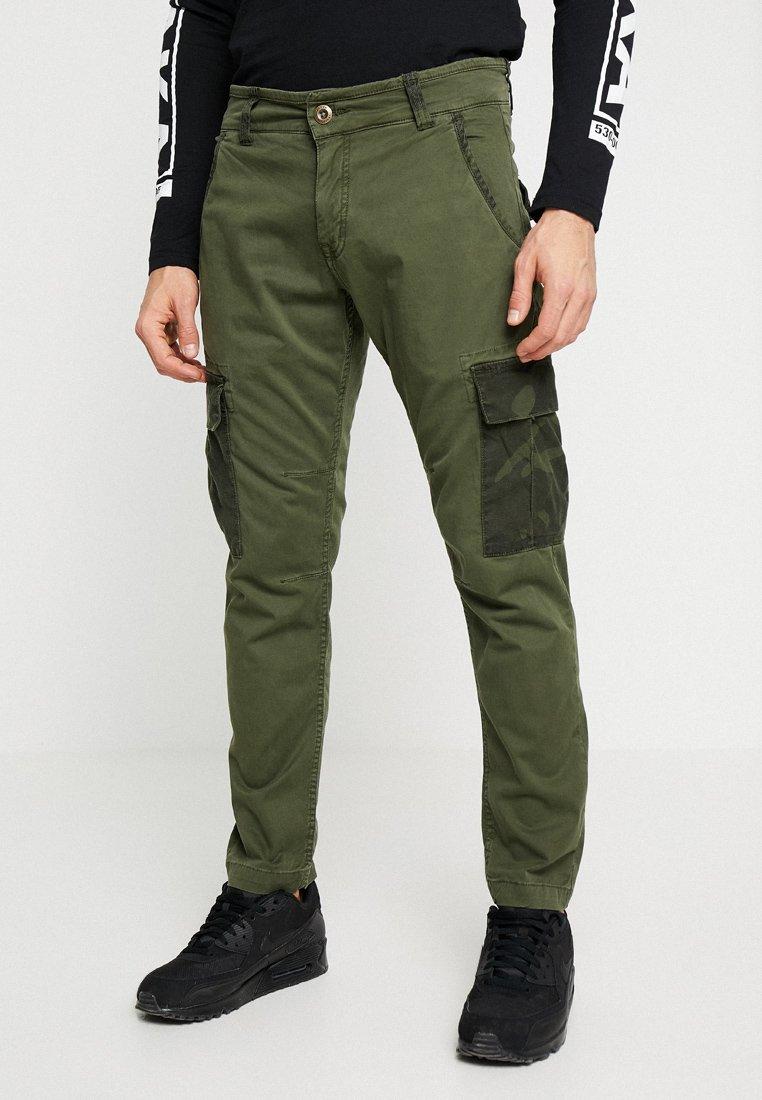 Alpha Industries - POCKET PANT - Pantalon cargo - dark olive