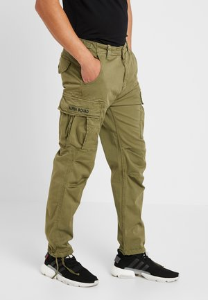 SQUAD - Cargo trousers - olive