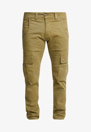 AGENT  - Pantaloni cargo - light oliv