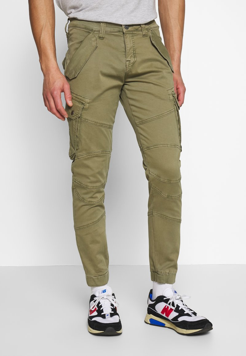 Alpha Industries - Pantalon cargo - oliv