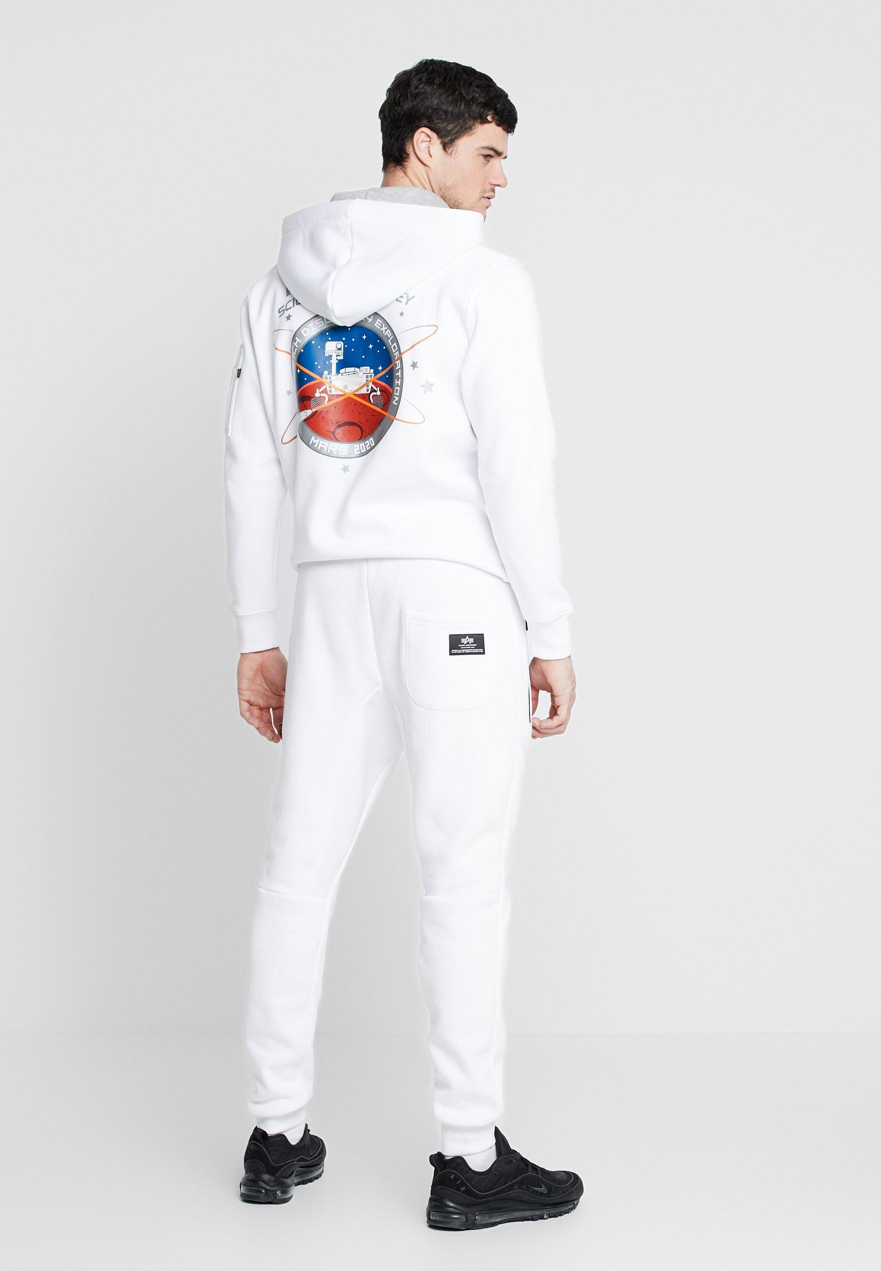 Alpha Industries Spodnie treningowe - white