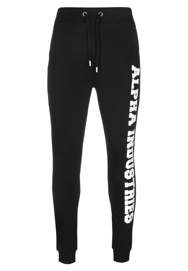 BIG LETTERS - Trainingsbroek - black