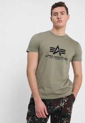 BASIC - T-Shirt print - olive
