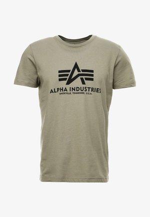 BASIC - Camiseta estampada - olive