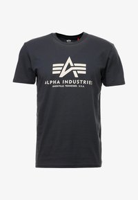 Alpha Industries - BASIC - T-shirts med print - anthrazit - 3