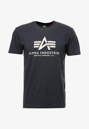 BASIC - T-shirt imprimé - anthrazit