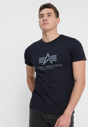 BASIC - Camiseta estampada - rep blue