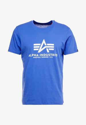 BASIC - Print T-shirt - nautical blue