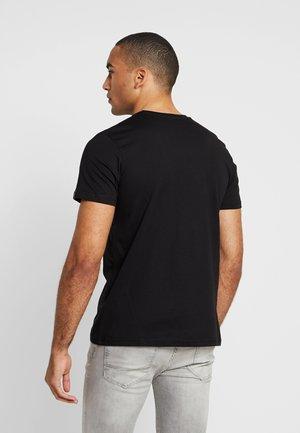 BASIC - Print T-shirt - black copper