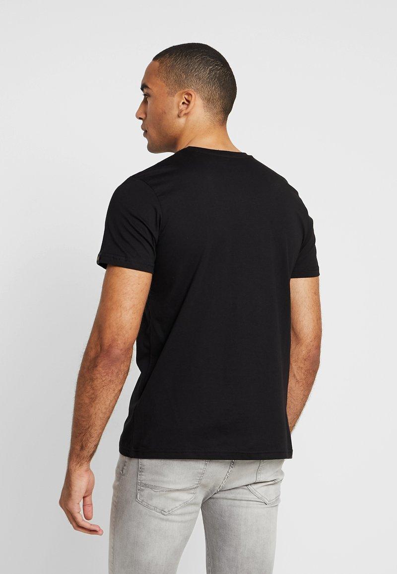 Alpha Industries - BASIC - T-shirt imprimé - black copper