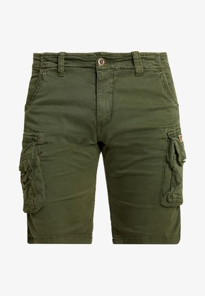 CREW - Shortsit - dark oliv