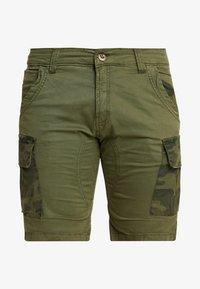 Alpha Industries - Shorts - dark olive - 4