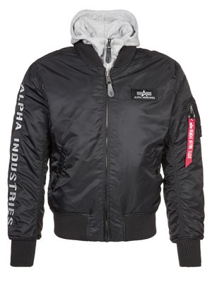 Veste mi-saison - black/grey