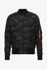 Alpha Industries - MA1 TT - Bomberjacks - black camo - 6