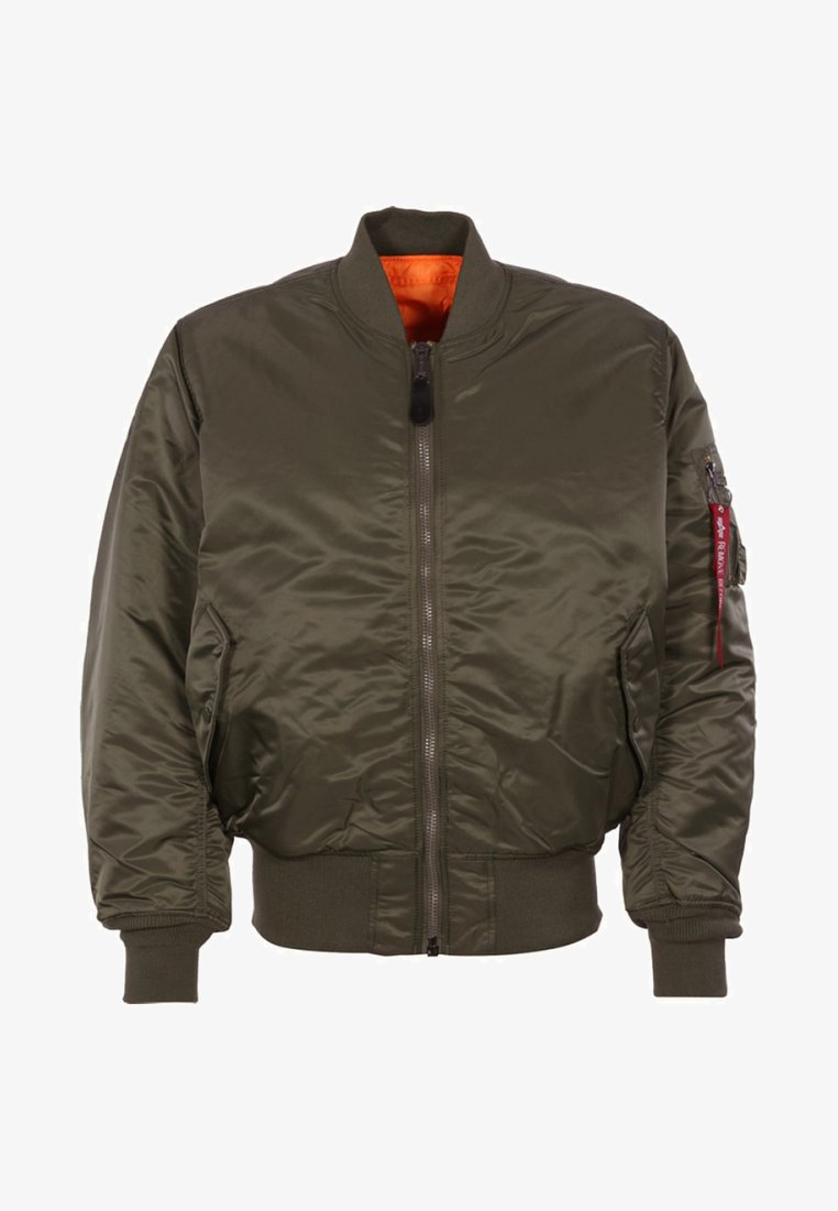 Alpha Industries - Bomberjacke - dark brown
